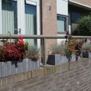 Wisselbeplanting in rood